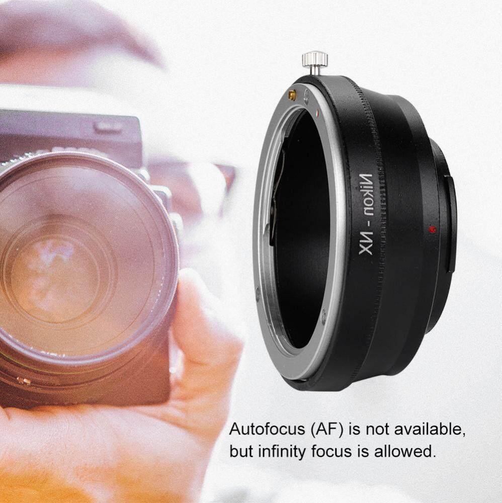 Black Camera Lens Adapter Ring for Nikon-NX (AI-NX) Mount for