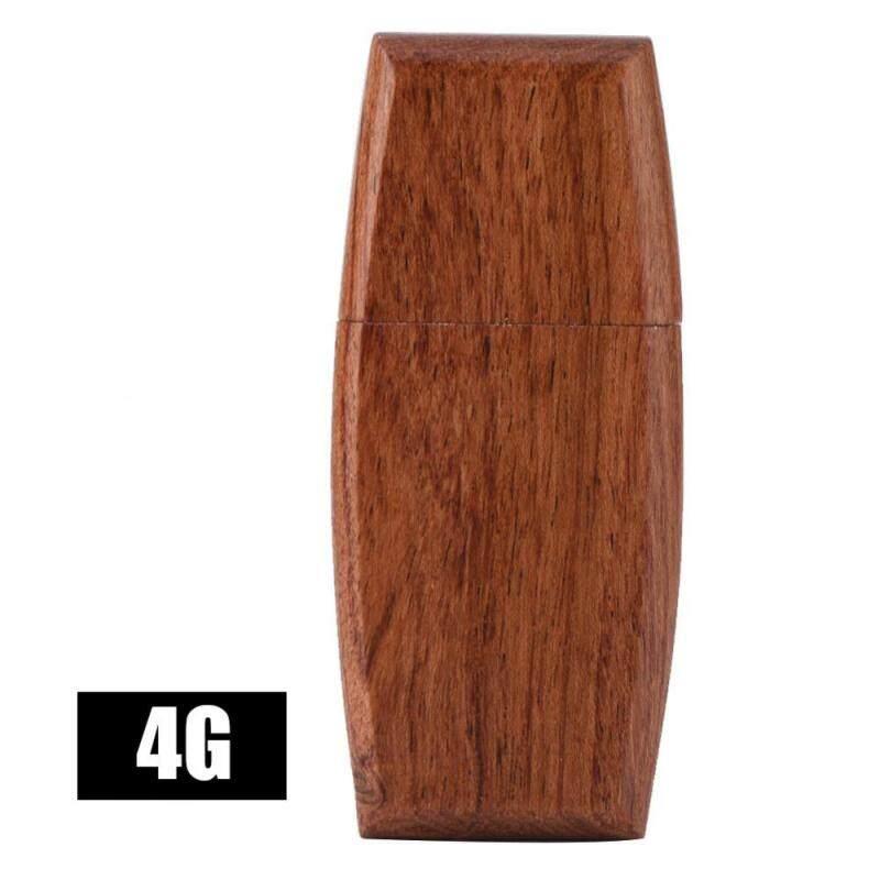 Bảng giá Justgogo USB 2.0 Flash Drive Storage Rosewood Arch-shaped U Disk(4G) - intl Phong Vũ