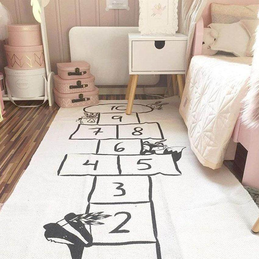 Unique2017 Ins Baby Rugs Cartoon Printed Creeping Mat Kids Childrens Infant Game Pad Cushion Adventure Crawling Mat Cotton Floor Playmat Blanket Gym Play Mat Round Carpet Room Decoration