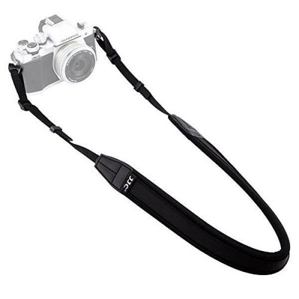 Tali Leher Kamera JJC Kamera Mirrorless Leher Tali Sabuk Bahu untuk Sony A6500 A6300 A6000 A9 A7 III Fujifilm X-PRO2 X-T20 X-T2 X-A10 X-A5 X-E3 x-E2S Olympus E-M10 E-M5 E-PL8 PEN-F Canon M100 M10, dll-Intl