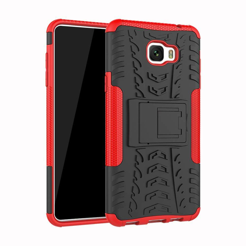 Chắc bạn cũng thích UPaitou Armor Case for Samsung Galaxy C7 Pro Tough Rugged TPU + PC Dual Layer Protective Case with Kickstand Back Cover for Galaxy C7 ...