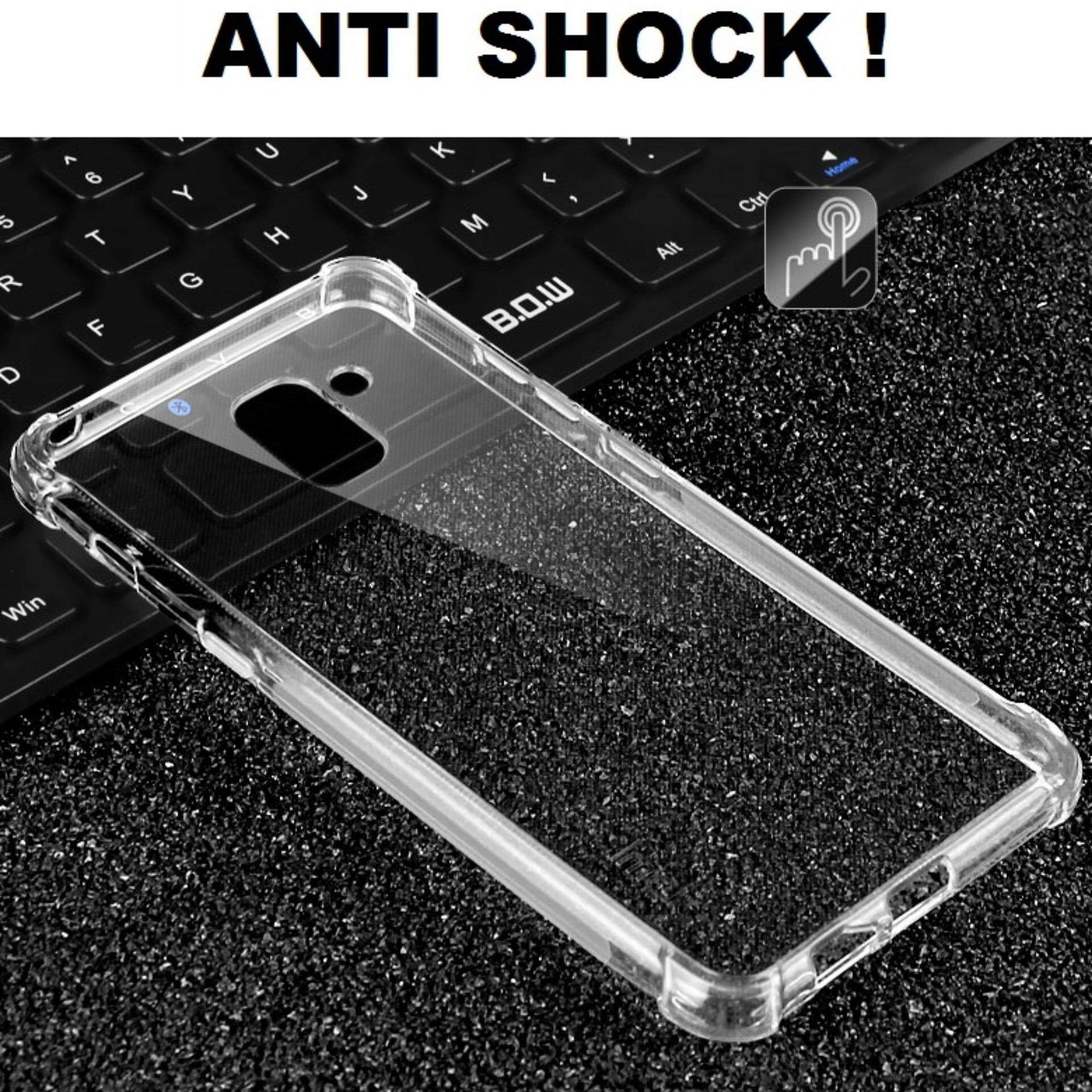 Features Samsung Galaxy J6 2018 Anti Shock Transparent Back Case