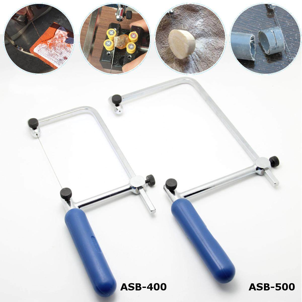 1 Pcs Asb 500 Coping Saw Diamond Wire Saw Frame Jade Metal Wire Saw Blade Cutting Tool By Moonbeam