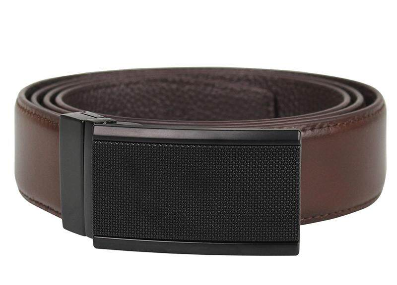 Tomaz 1645 Leather Belt (Coffee)