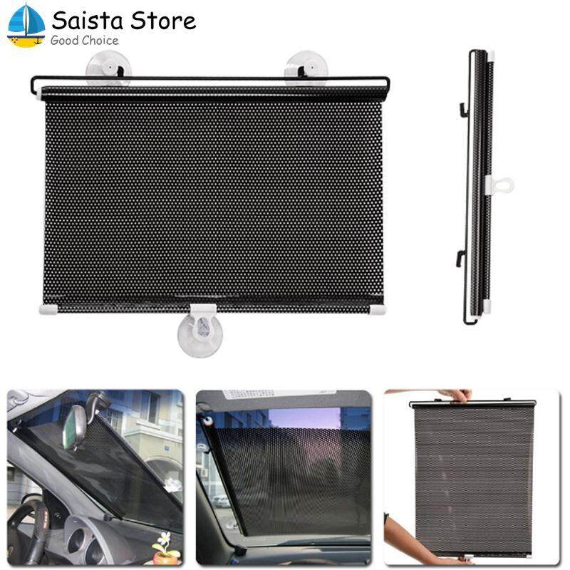 Pvc Retractable Mesh Uv Protection Front Windsheild Sunshade For Car Auto By Saista Store.