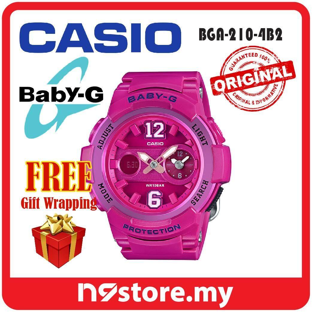 Features 2 Years Warranty Casio Original Baby G Bga 230sc 4b Analog 230 7b2 210 4b2 Digital Ladies Pink Sports Watch