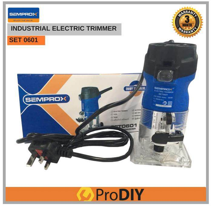 SEMPROX SET0601 Industrial Electric Trimmer Wood Trimmer Router