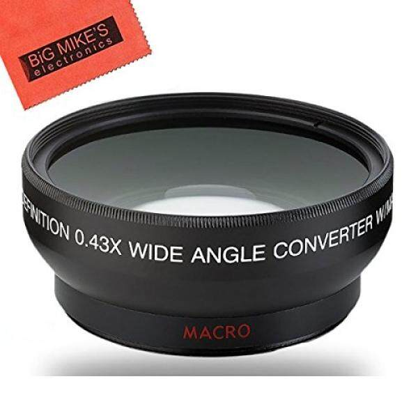 40.5mm Wide Angle Lens for Sony Alpha A5000, A5100, A6000, A6300, A6500, NEX-5TL, NEX-6 Digital Camera That has Sony 16-50mm f/3.5-5.6 OSS Alpha E-mount Retractable Zoom Lens