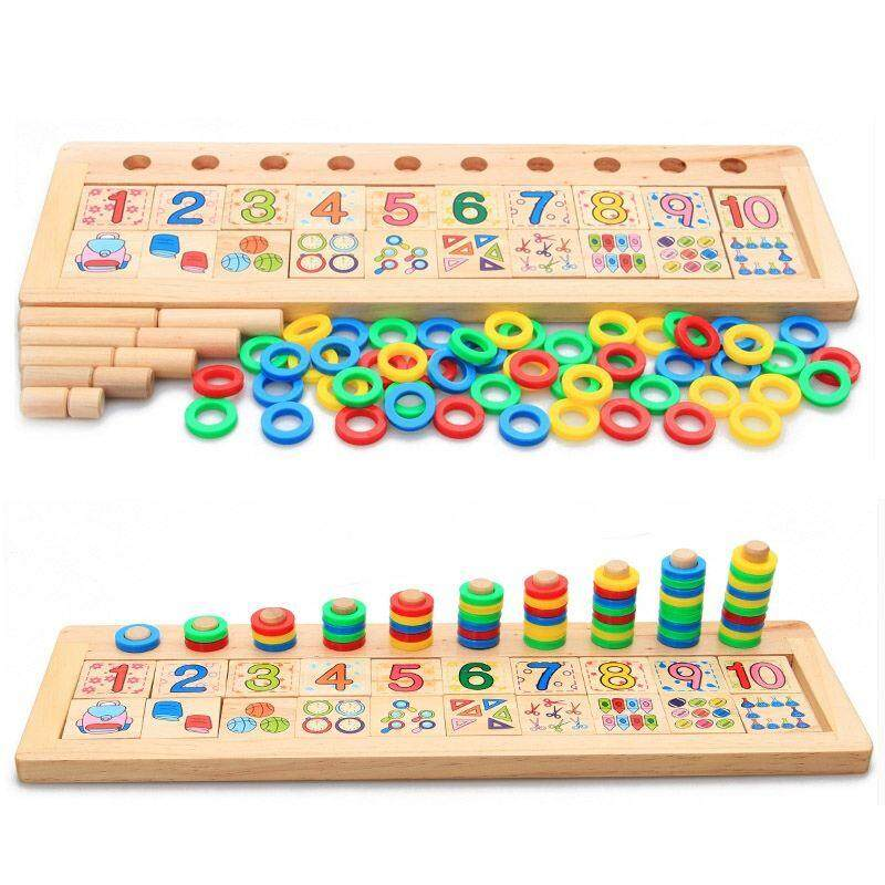Color & Shape Montessori Magnetic Wooden Worm Alphabet Car Math Number Developing Puzzle Animal Early Educational Insect Game Toy For Children Comfortable Feel Toys & Hobbies