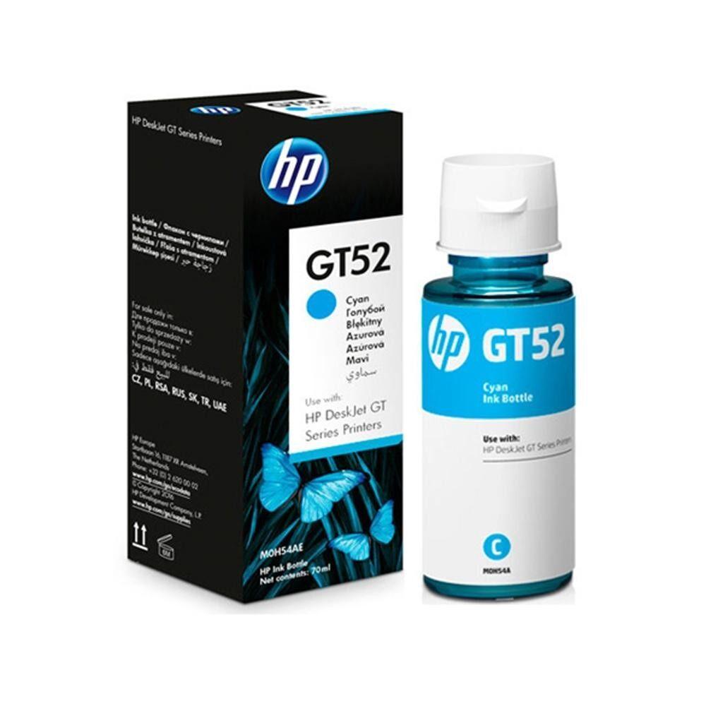 HP Deskjet GT52 All-In-One Cyan Ink Bottles