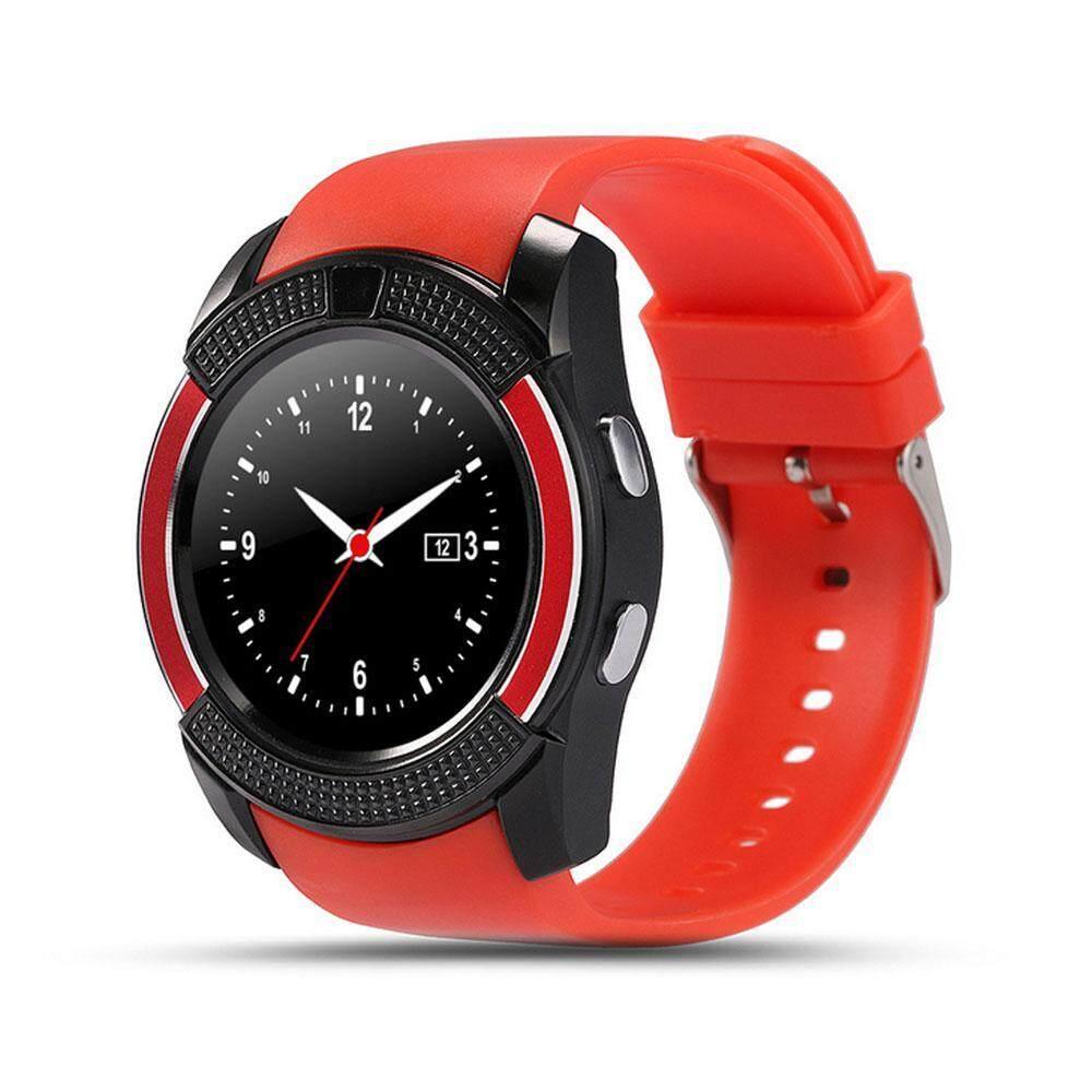 niceEshop Bluetooth Smart Watch,Wrist Watch Supports SIM Card Slot Camera Phone Calls Pedometer Music
