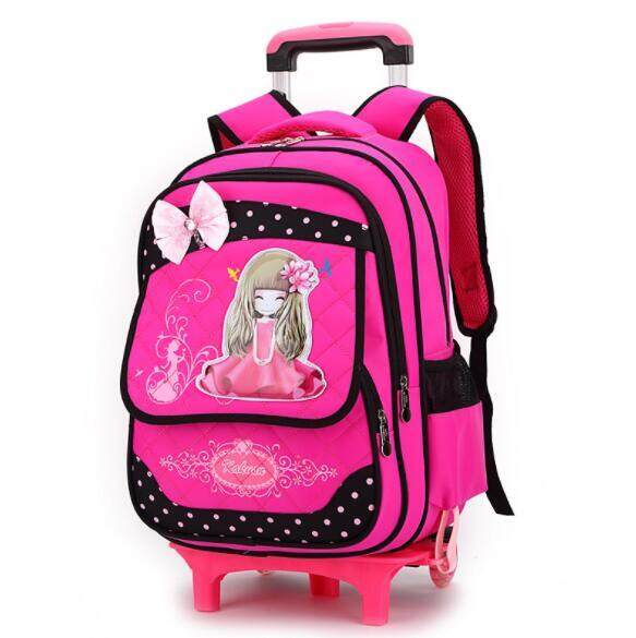 Primary School Trolley Children Removable Backpack CTO3