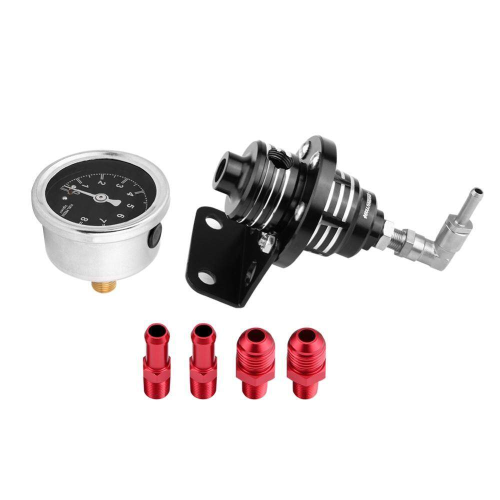 Pengaturan dari Aluminium Auto Mobil 0-160 Psi Pemakaian Pengatur Tekanan Kit W/Oil