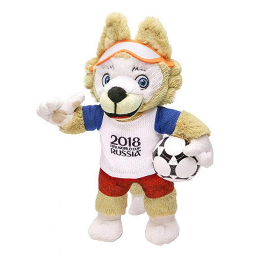 Hình ảnh World Cup 2018 Mascot Doll Plush Toy Fans Souvenir Coyote Zabikaka