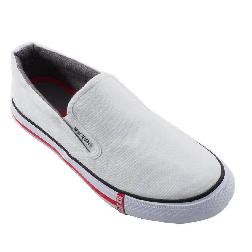 New Seven School Shoes White WR768