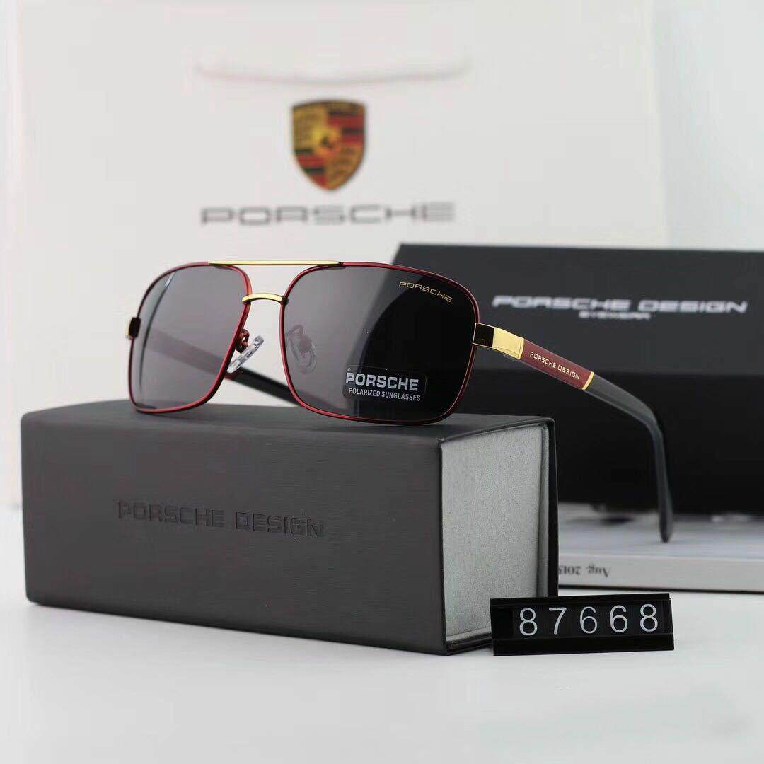 2f62564de8 PORSCHE Men Square Frame Anti UV400 Polarized Sunglasses - intl