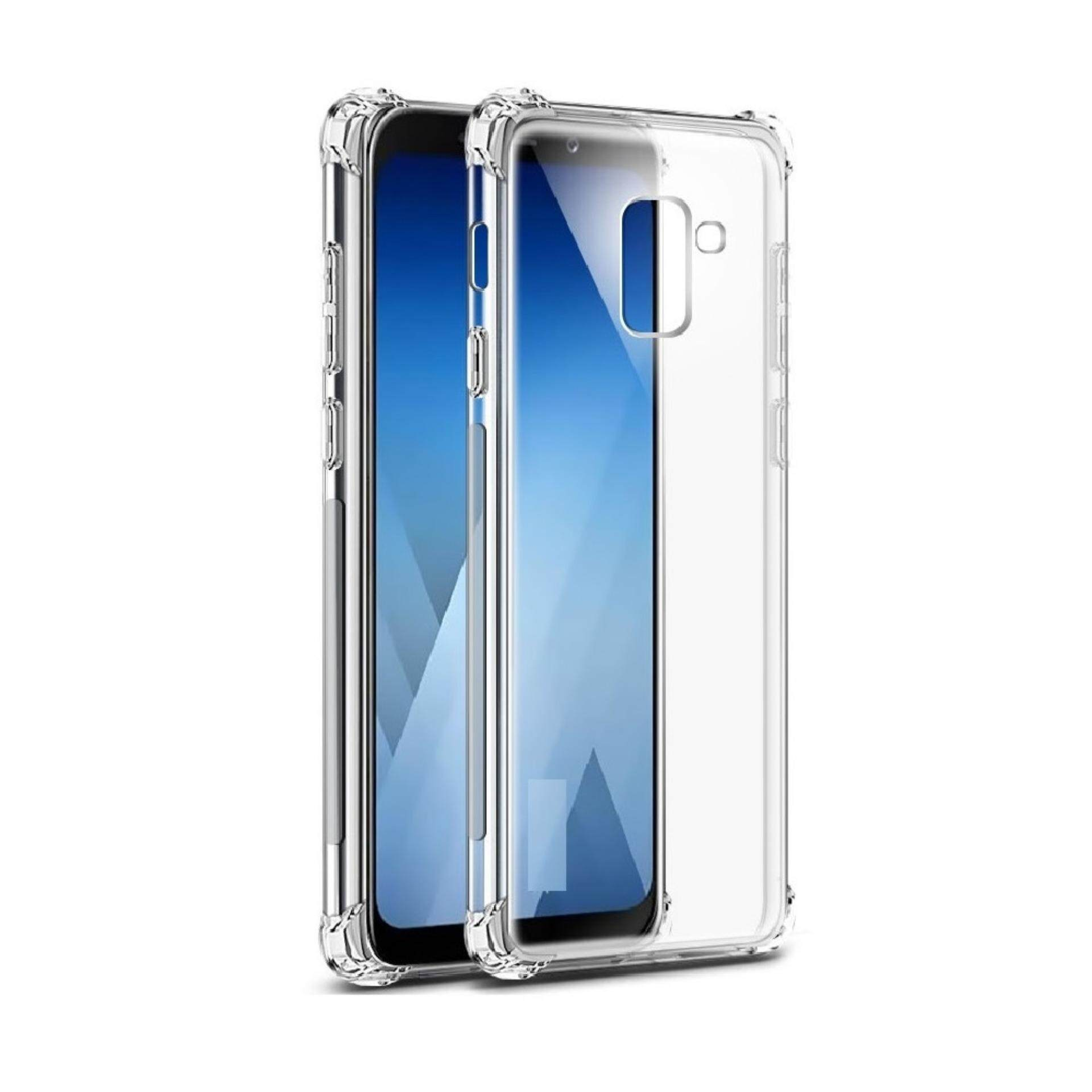[Anti Shock] SAMSUNG GALAXY A6 PLUS 2018 Anti Shock Soft Thin TPU Back Case