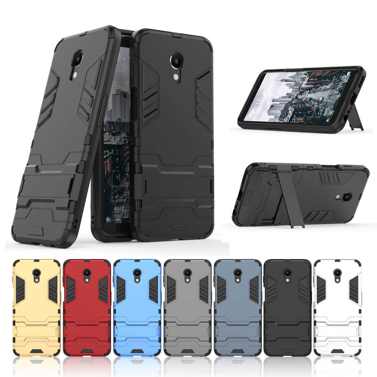 Buy Sell Cheapest Meizu Meilan S6 Best Quality Product Deals M6 Case Iron Armor Casing Cover Moonmini For M6s Cool Designed Dual Layer Hybrid With Kickstand Shockproof