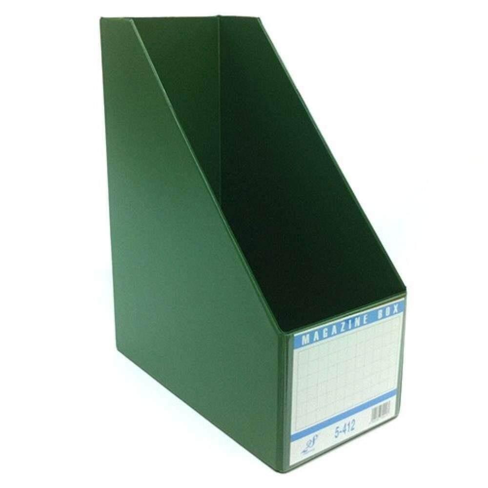"East-File PVC Magazine Box Filing Case 5"" (Item No: B11-96 GR) A1R5B91"