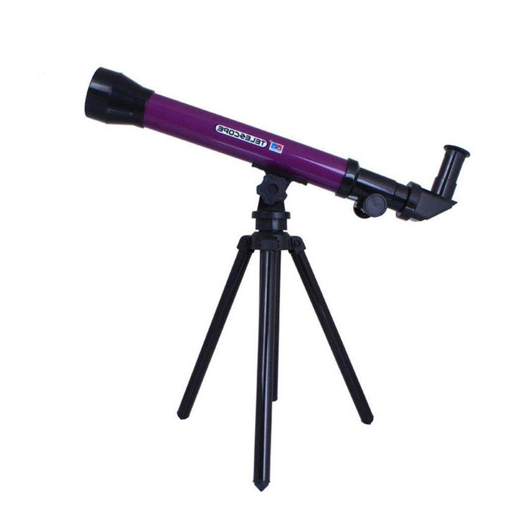 Magideal 20x 40x 60x Children Student Educational Toy Purple Astronomical Telescope By Magideal.