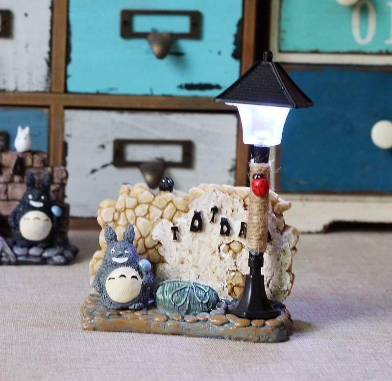 Totoro Night Lamp 1(Grey)