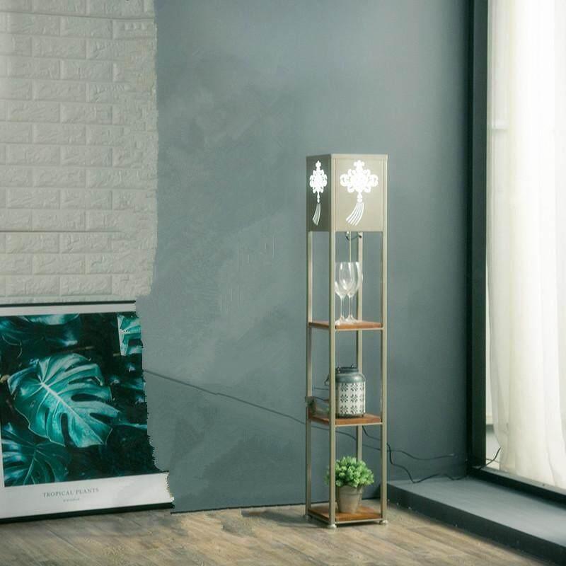 Shelf Floor Lamp. Creative Design Of Bedroom/study/living Room Floor Lamp For Various Purposes. By Dongpeng.