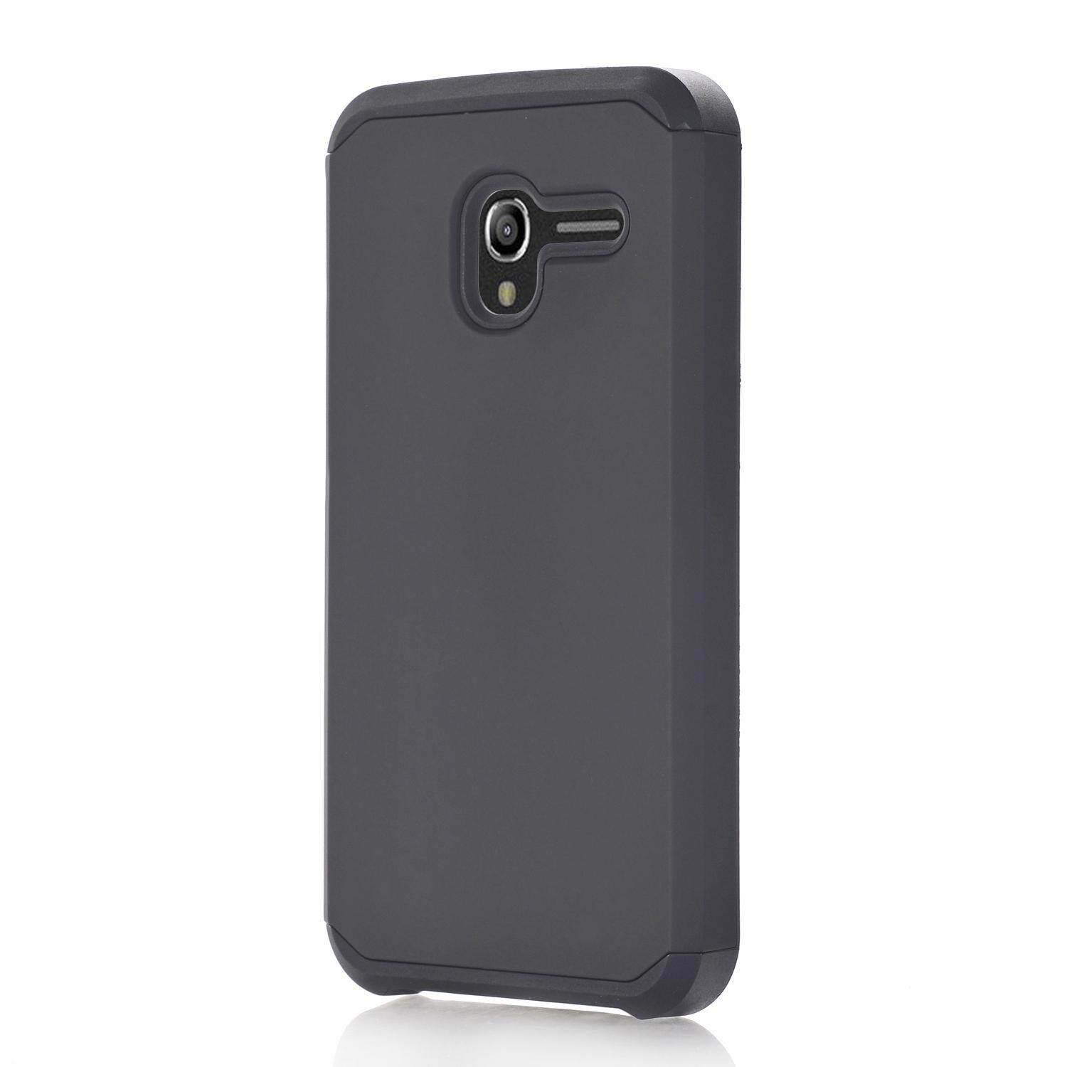 AS Beauty Phone Case for Alcatel TRU Case 2-in-1 TPU Double Layer Drop Protection Cellphone Cover Shockproof Slim Mobile Phone Back Case - intl