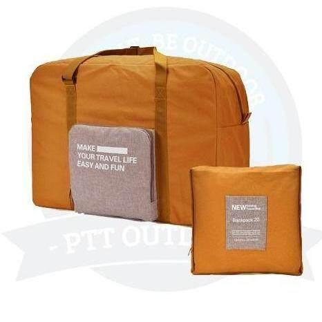 [ BEST SELLER ] Portable & Foldable Exclusive Travel Pouch Clothes Storage Bag-Orange