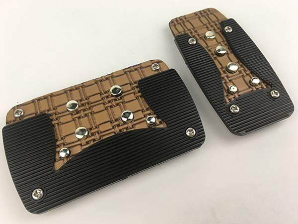 RACING DYNAMIC Old School Non Slip Auto Gear Transmission Pedal Pad Made in Korea (624F-Auto)