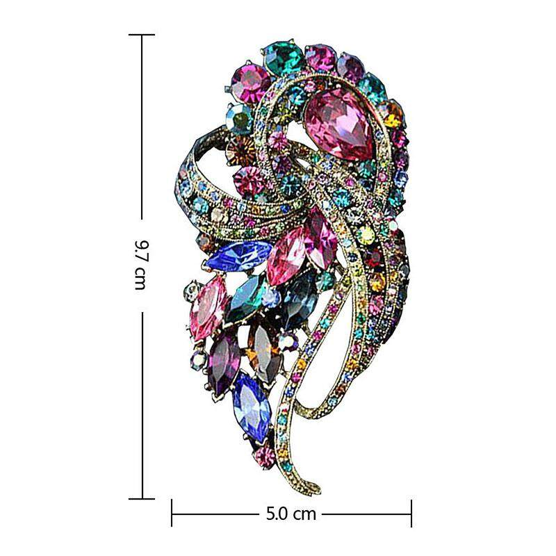 Personality Fashion Brooch For Women High Quality Brooches Pins Jewelry - intl