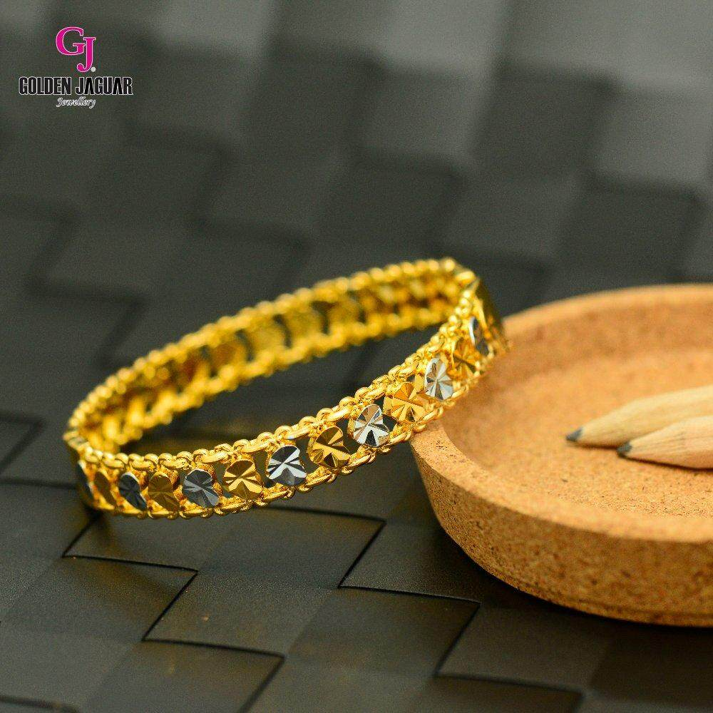 Emas Korea Golden Jaguar Bangle (GJJ-59894)