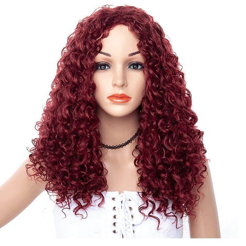 Ebay Thời Trang Nữ Curls Long Tóc Tóc Giả nhập khẩu