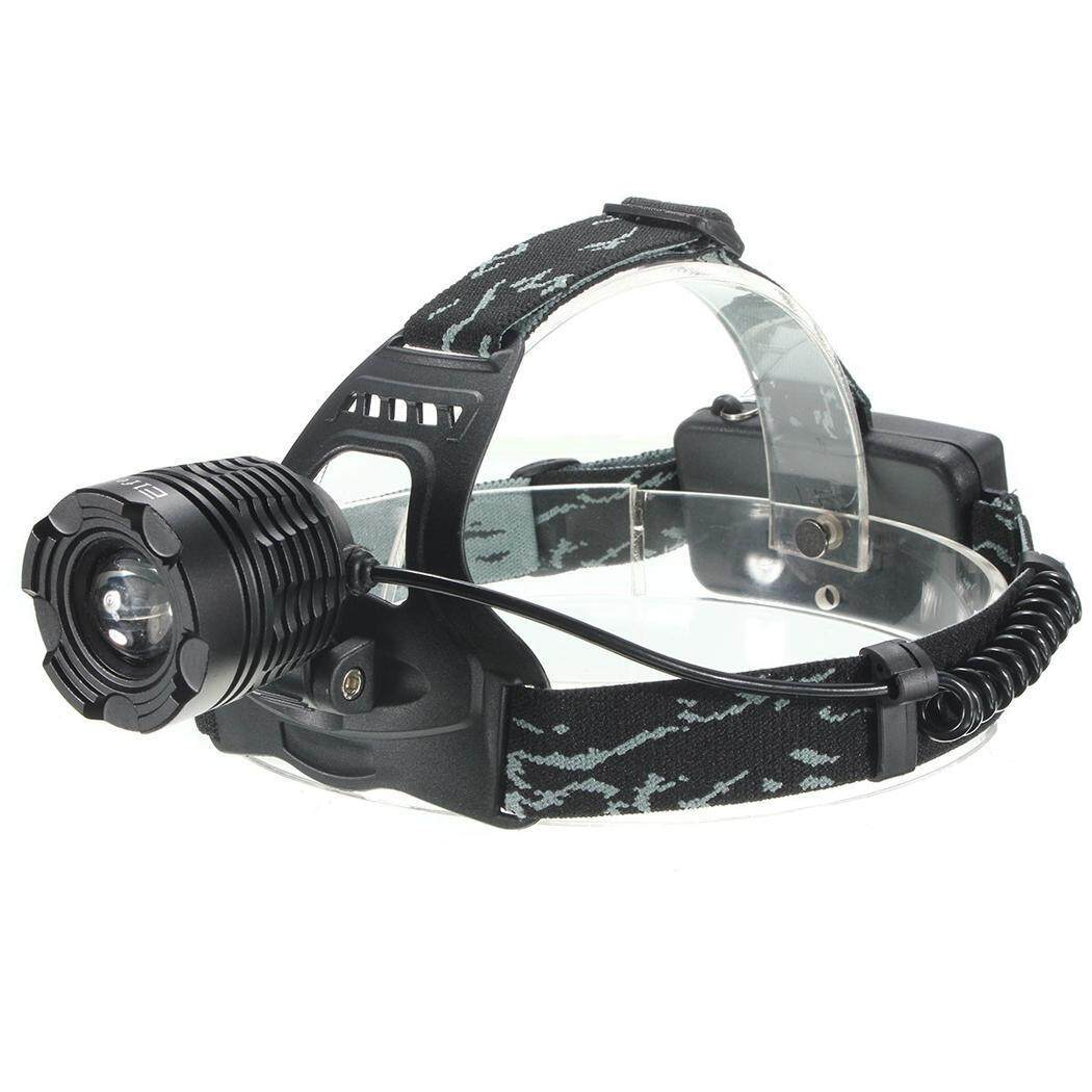 Hình ảnh Hot Sale LED Head Lamp USB Rechargeable Battery 2000 Lumen LED Headlamp - intl