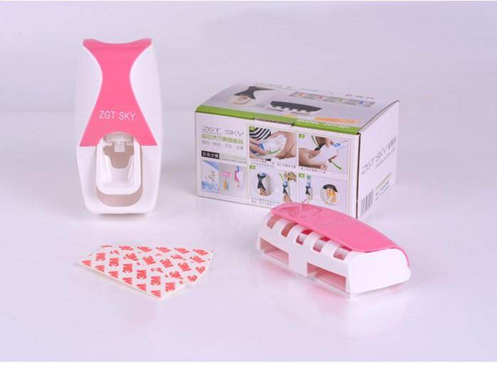 Large Touch Me - Automatic Toothpaste Dispenser Hands Free Fast Easy - Random Colour