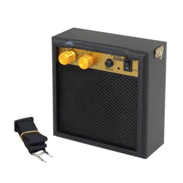 Bộ khuếch đại âm thanh baoblaze cho guitar, Bộ loa Bass 5W di động màu đen