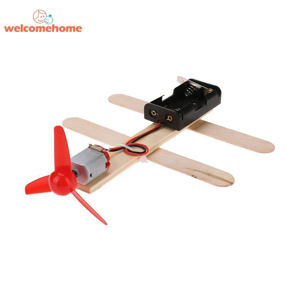 Scientific Experiments Handmade Diy Parts For Electric Wind Driven Toy Boat By Welcomehome.