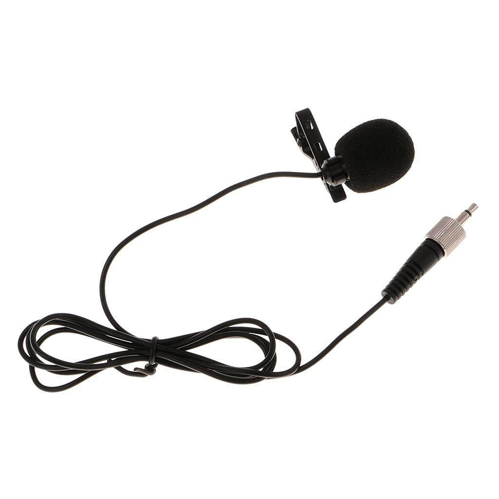 Kelebihan Justgogo Mini Kondensor Mikrofon Lapel Lavalier Mic Tie Microphone Clip On Jepit Miracle Shining 35mm For Sennheiser Black