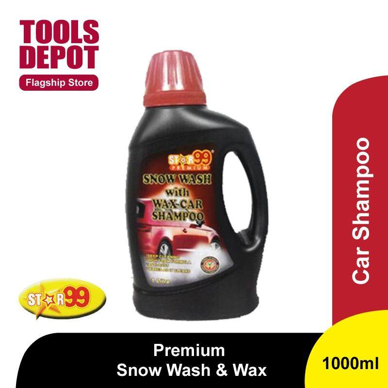 Star99 Premium Snow Wash with Wax Car Shampoo (1000ml)