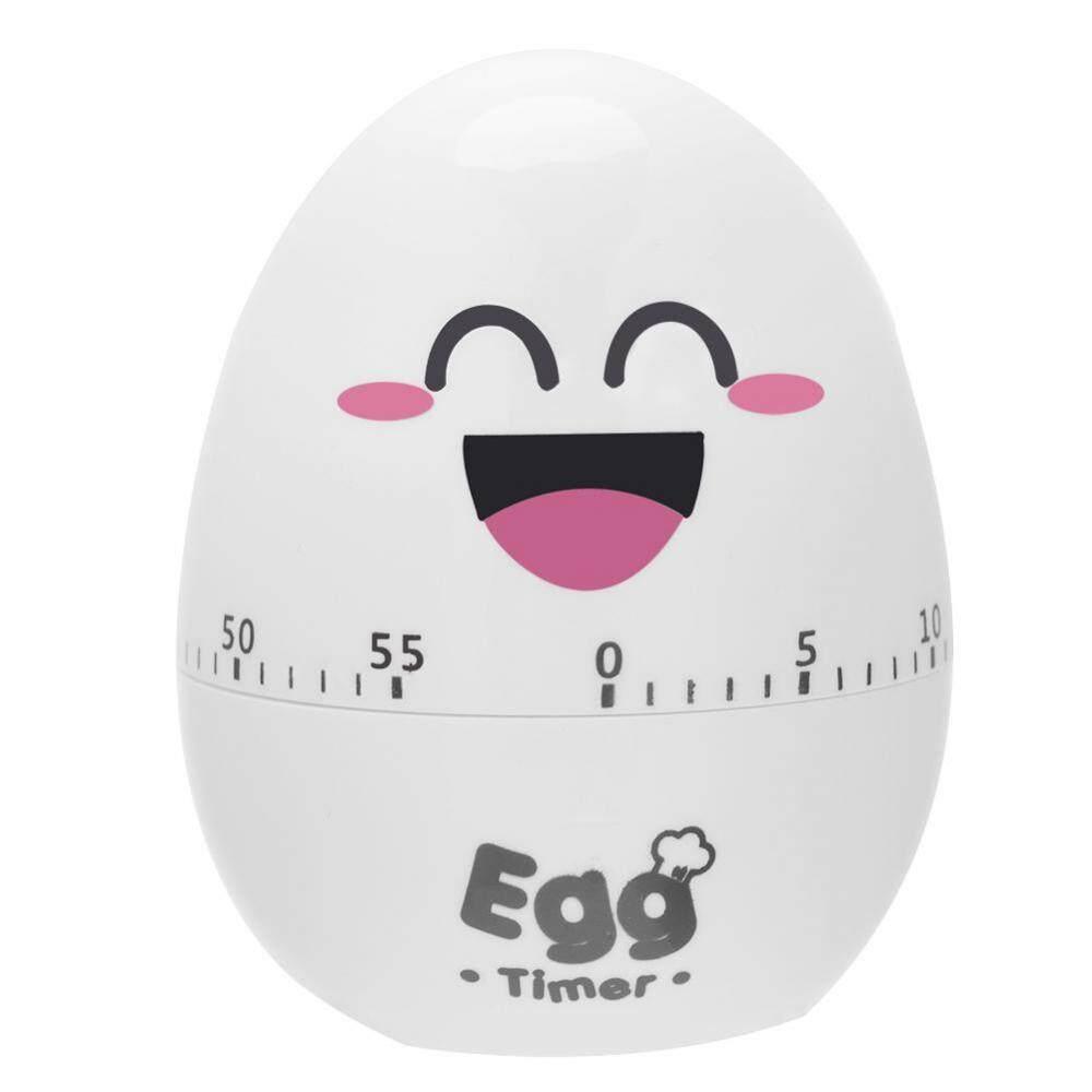 Plastic Cartoon Cute Egg Manual Timer Kitchen Cooking Tool 55 Minutes Mechanical Alarm - intl