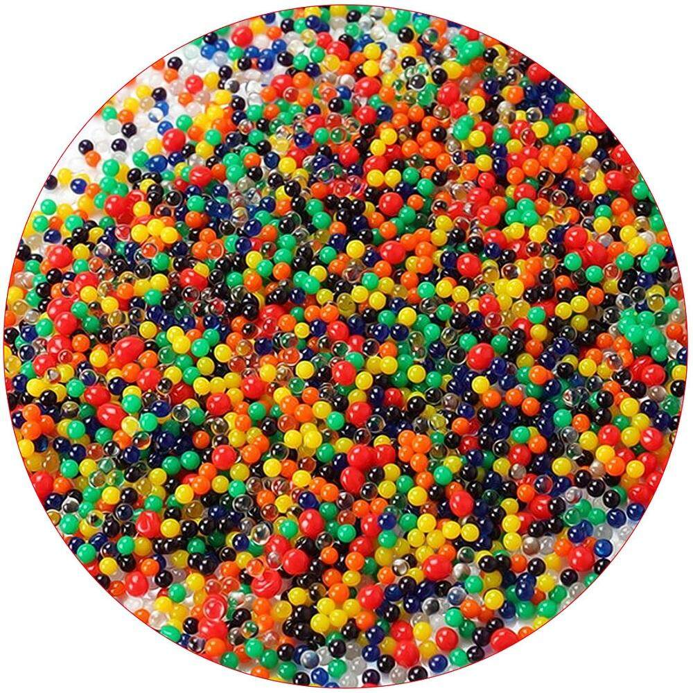 6f7b3e4d70a 10000Pcs /lot Water Beads Pearl Shaped Crystal Soil Water Beads Magic  Growing Mud Jelly Balls