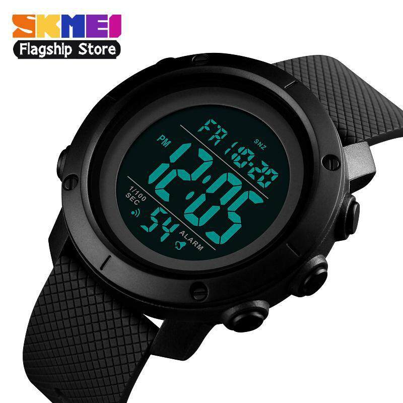 SKMEI Men Sports Watch Waterproof Digital Watches Countdown Alarm Tonton  Fashion Wristwatch Clock Jam tangan lelaki c7d2d0142d