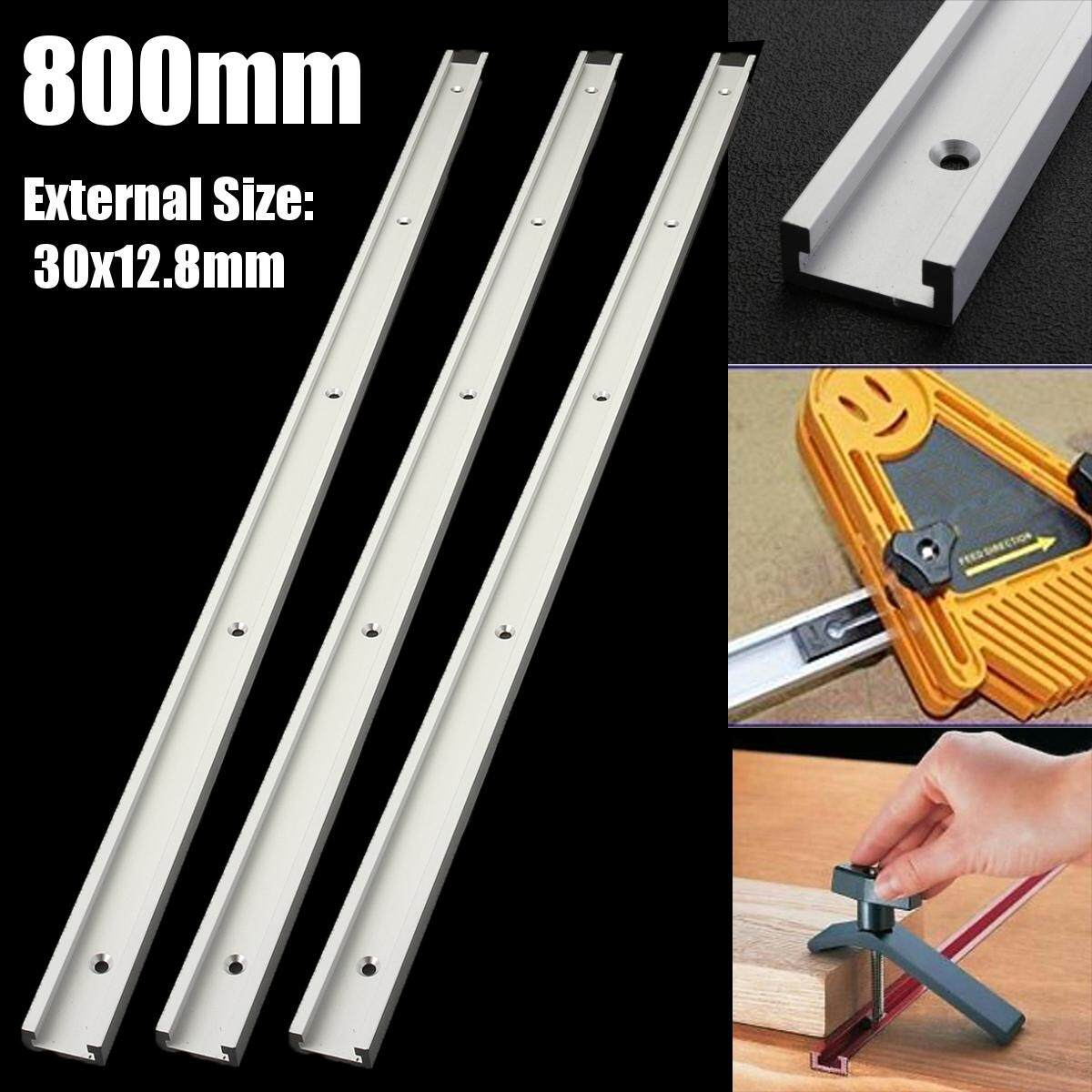 Hình ảnh 800MM T-Slot Miter Track Jig Fixture T-tracks For Router Woodworking Table Tool