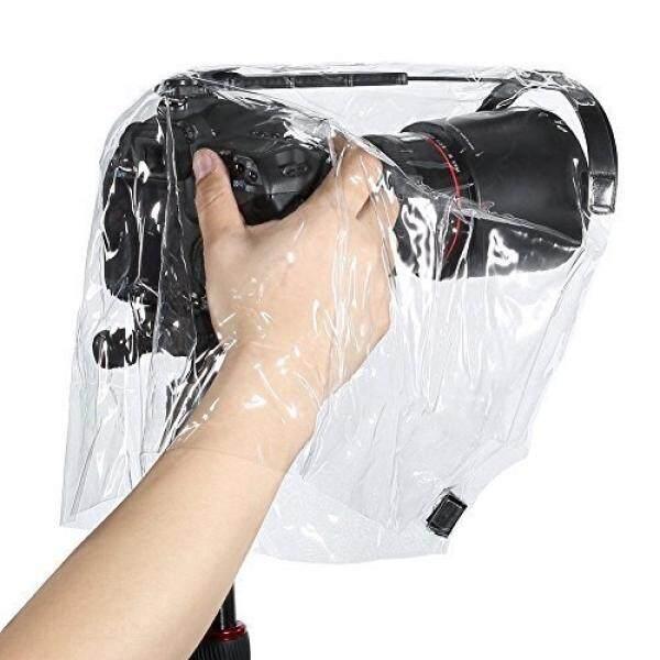 Pelindung Hujan Mantel Tahan Debu Pelindung Kamera Jas Hujan Yg Tahan Hujan untuk Canon Nikon dan Kamera DSLR