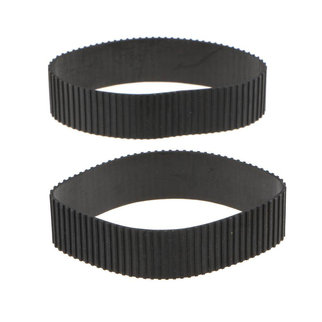 Miracle Shining For Canon EF 24-70mm f/2.8L II USM Lens Zoom/Focus Rubber Ring Replacement