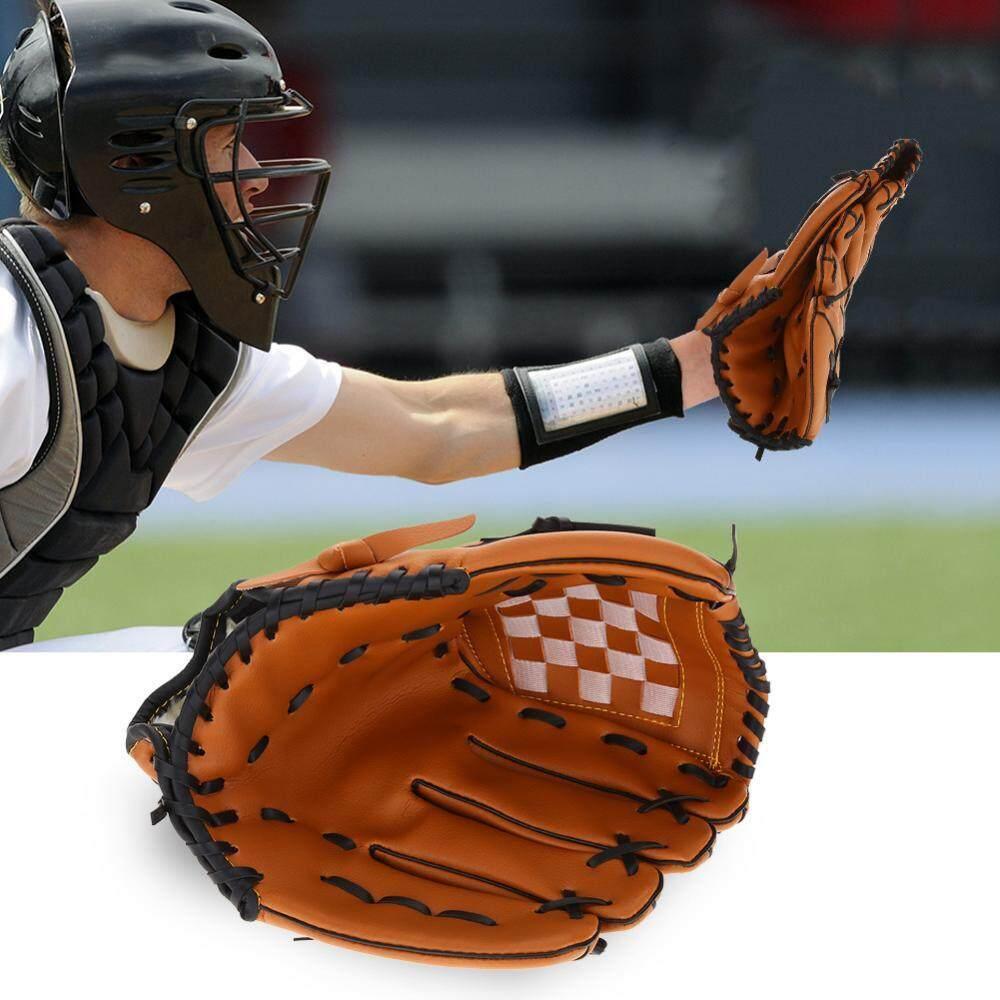Anak Profesional Tangan Kiri Pvc Bisbol Softball Latihan Sarung Tangan Equipment-Internasional By Rubikcube.