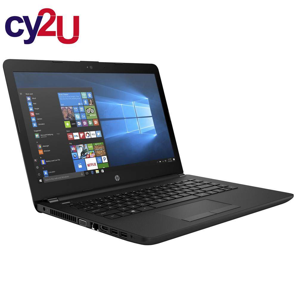 HP 14-BS537TU N3060 4GB 500GB 14 WINDOW 10 NOTEBOOK - 2BD72PA (JET BLACK) Malaysia