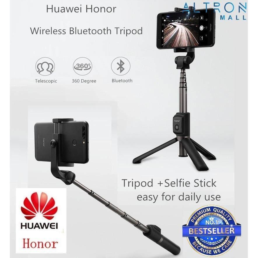 Original Huawei Honor Selfie Stick Tripod Bluetooth 3.0 Portable Monopod Extend