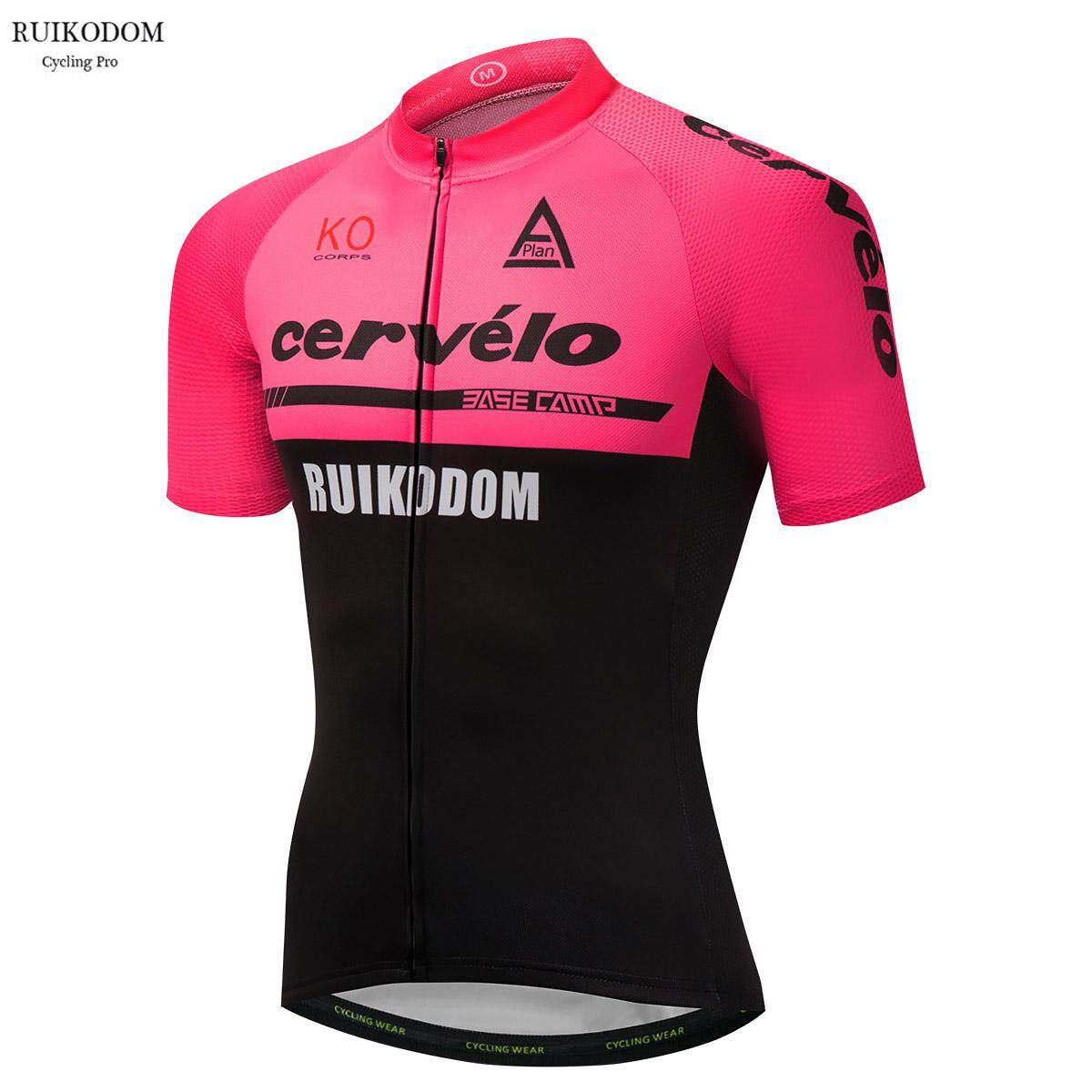 2018 Cervelo Summer Short Sleeve Quick Dry Pro Team Cycling Jersey Bycicle Clothing  Bike Clothes - 619605918