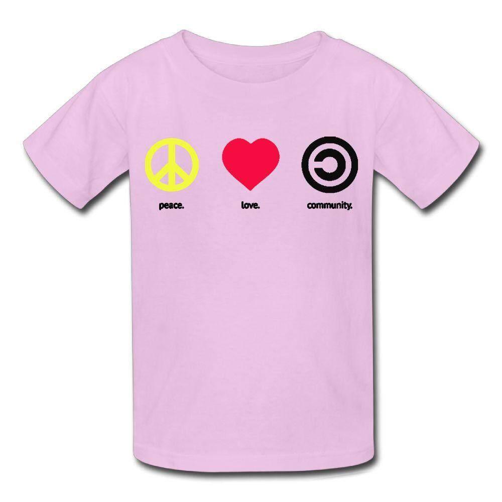 Brica T Shirt B Pro Alpha Edition Indonesia Community Size L White M Yonth Kids Peace Love Fashion New Sport Teens Top Intl
