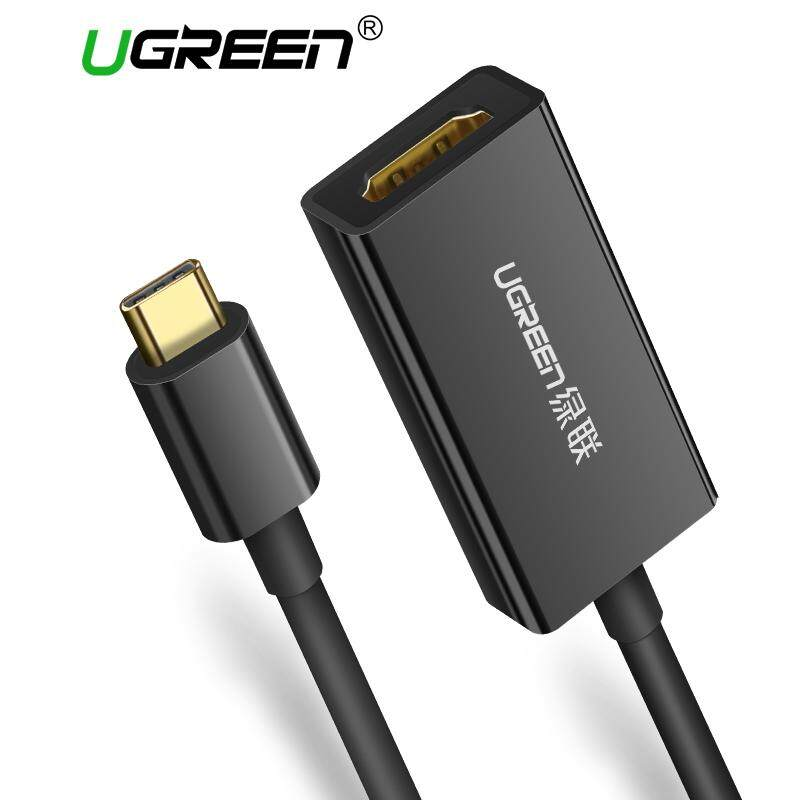 UGREEN USB C HDMI Cable Adapter, USB Type C to HDMI Cord Support 4K for New Macbook, Macbook Pro 2016, Dell XPS 13, Samsung Galaxy S8 Plus,S9,Note 8,Huawei mate10,P20, Lenovo Yoga 900/ miix510 , Google Chromebook Pixel - intl